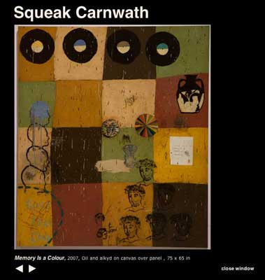 Squeak Carnwath painting